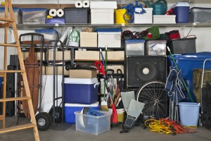 You'll need less self storage if you organize your space