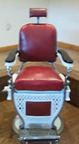Theo A. Koch Barber Chair