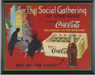 Canadian Coke Poster