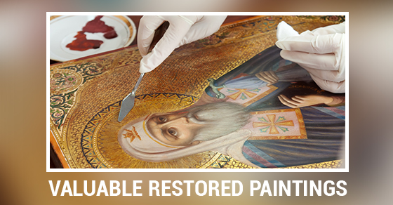 Valuable Restored Paintings