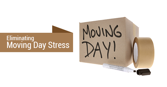 Eliminating Moving Day Stress