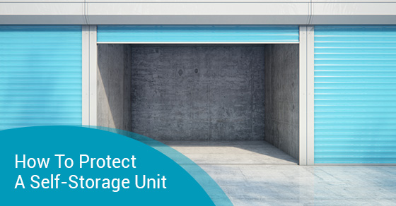 How To Protect A Self-Storage Unit