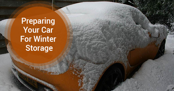 Preparing Your Car For Winter Storage