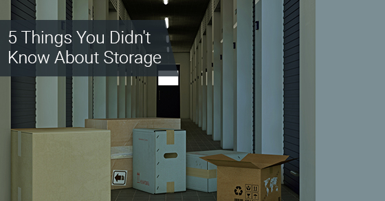 5 Things You Didn't Know About Storage