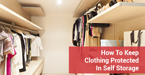 How To Keep Clothing Protected In Self Storage