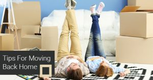 Tips For Moving Back Home