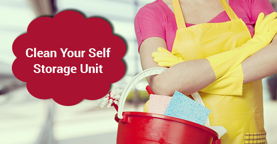 Clean Your Self Storage Unit