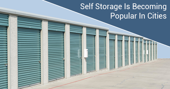 Self Storage Is Becoming Popular In Cities