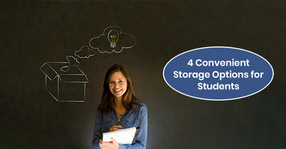 Flexible storage options for students