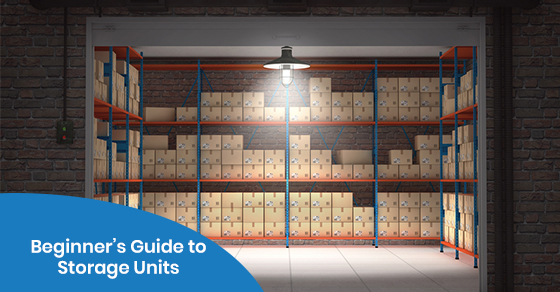 storage units guide for beginners