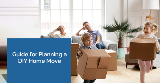 Do-It-Yourself Home Move