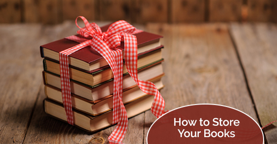 Tips for storing your books