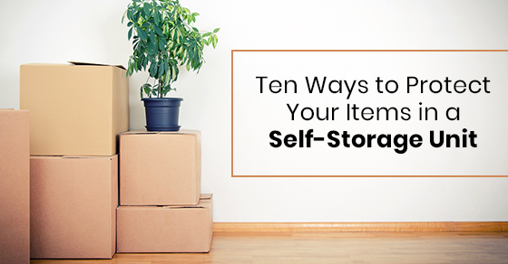 Ten Ways to Protect Your Items in a Self-Storage Unit