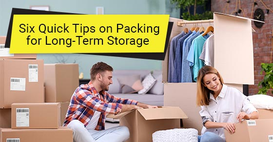 Tips for long-term storage