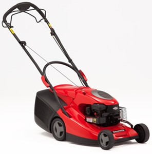 A lawn mower can take up a lot of space during the winter.