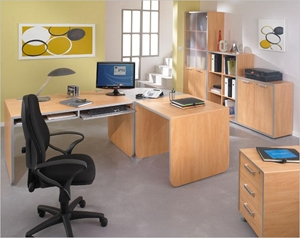Free up a home office from clutter with self storage.
